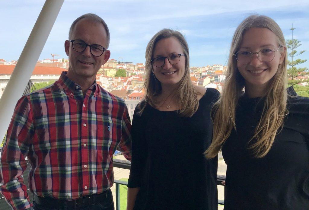 Pär Heed, Portugalpodden med Jennifer Ekström och  Elin Forzelius från Svensk Portugisiska Handelskammaren i Lissabon